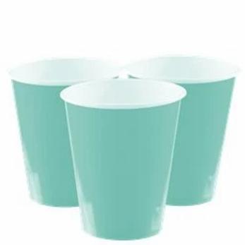 Mint Green Paper Cups