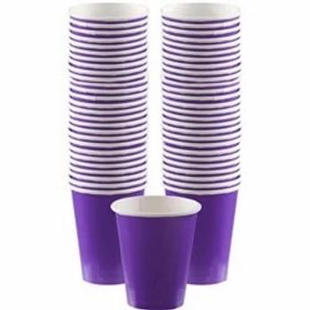 Purple Coffee Cups