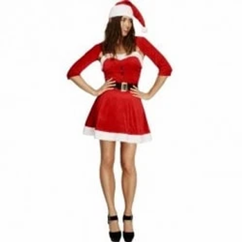 Fever Santa Babe Costume