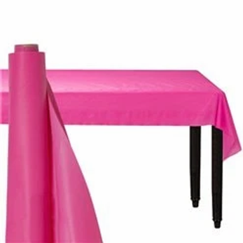 Hot Pink Banqueting Roll 30m