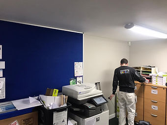 Office wall painting by Smart Dec Commercial and Domestic Decorators