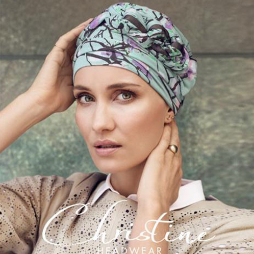 Azure Turban by Helena Christensen