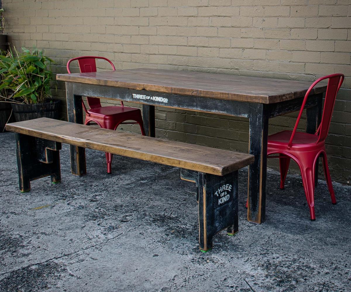 Black Based Table