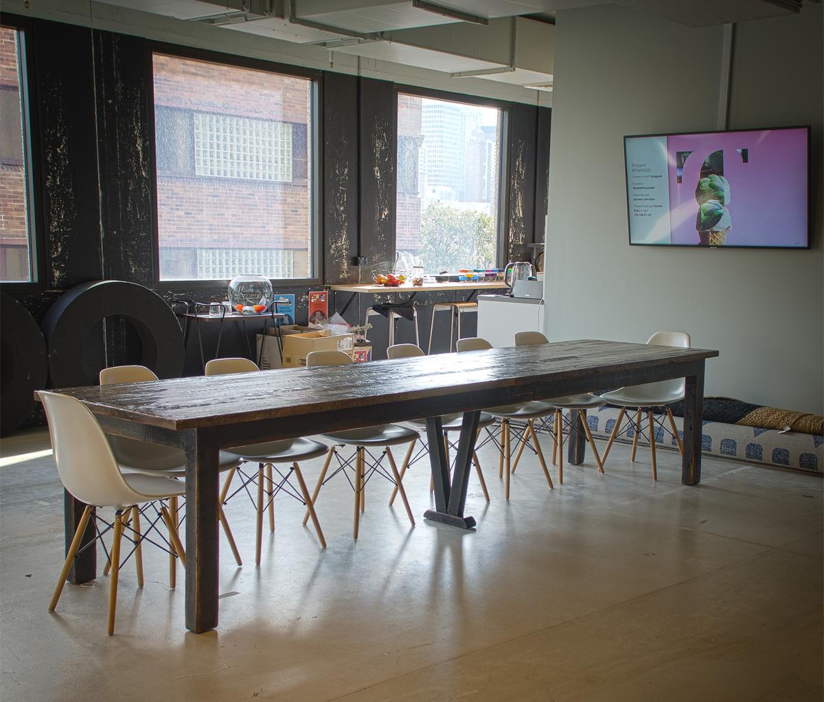 Custom Boardroom Table