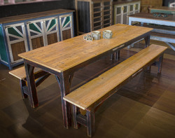 Kauri Dining Table & Benches