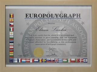 אלירן לנקרי - איגוד הפוליגרף האירופאי