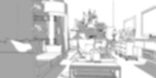 décoration cuisine salon par la Beauté-intérieurs Grenoble