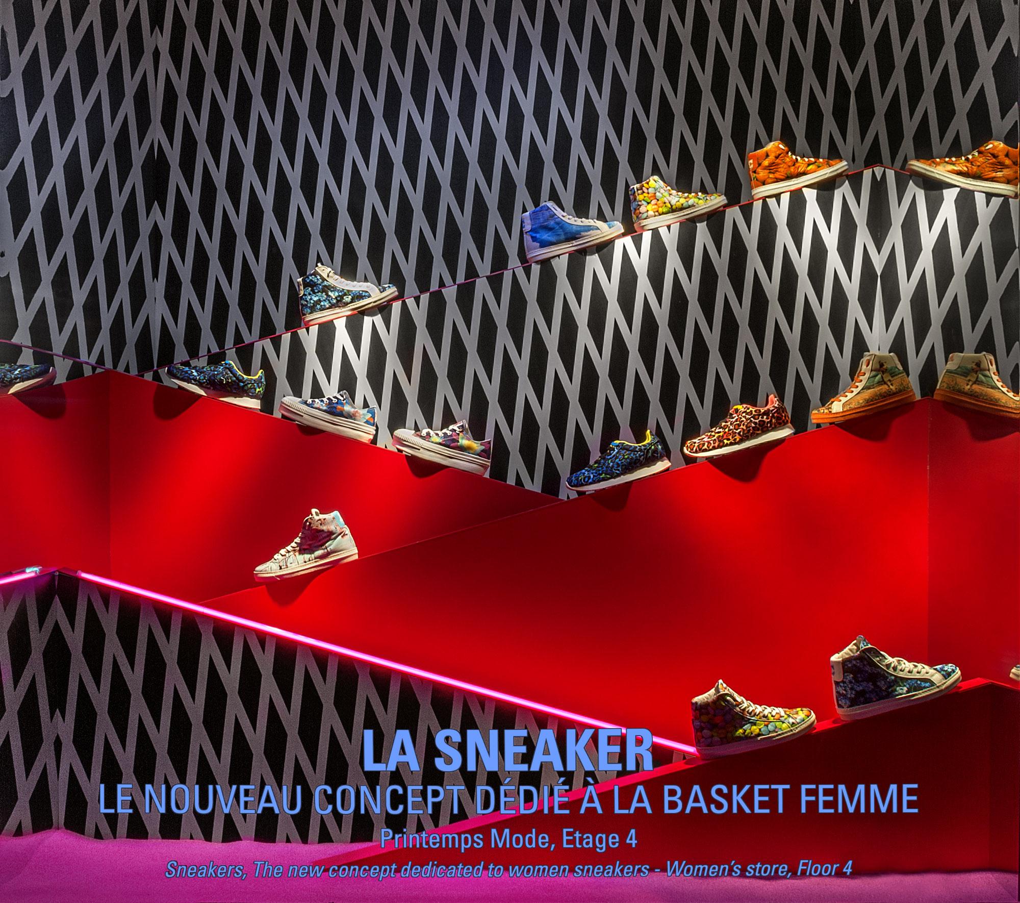 sneaker // Printemps Haussmann