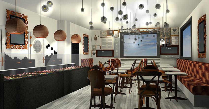 décoration boulangerie tea room pain+ brioche nyon suisse  beauté-intérieurs grenoble