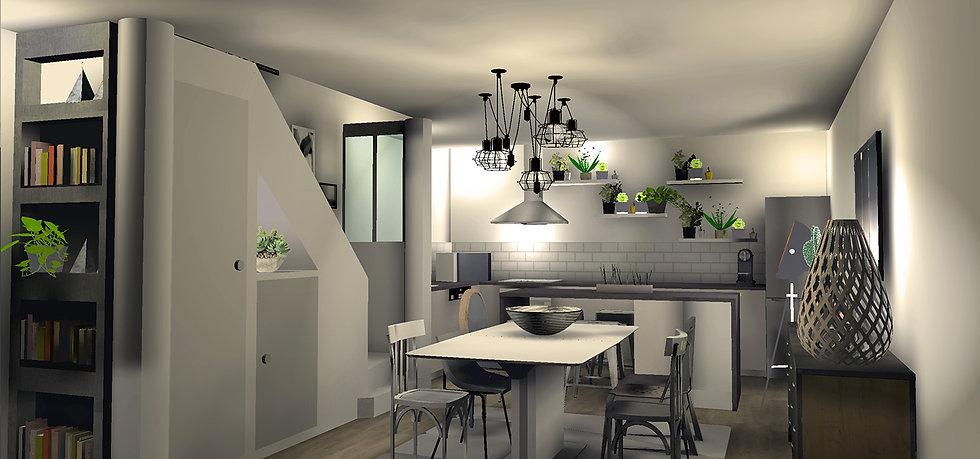 décoration intérieur rénovation par la Beauté-intérieurs Grenoble