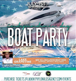 July 4th Weekend Boat Party