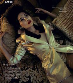 """Basic Magazine """"Claudia Nakash"""""""