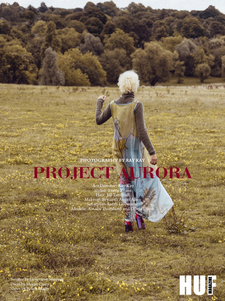 Huff Magazine Project Aurora