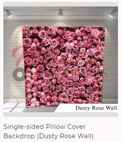 Dusty Rose Wall