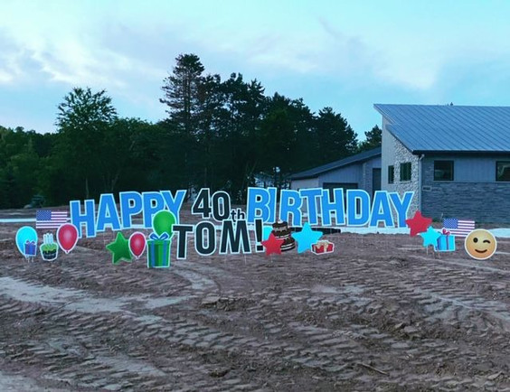 TOM is 40