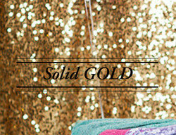 Solid Gold Sequin