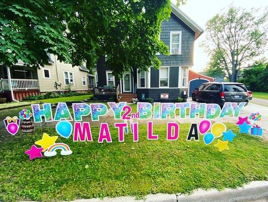 Matilda is 2