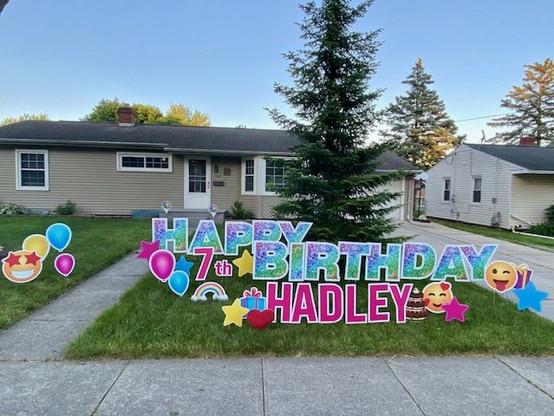 Hadley is 7