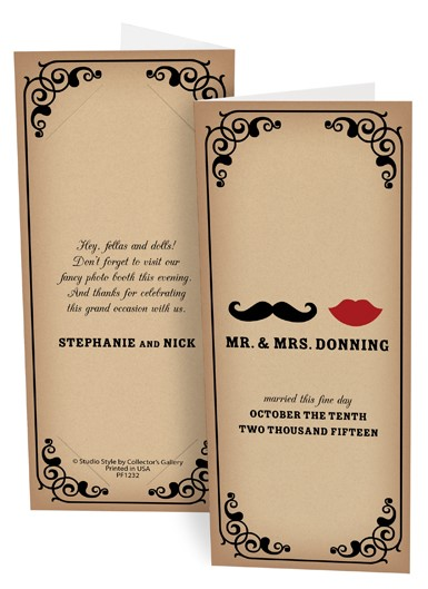 Mustach Photo Folder