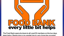 Food Bank is back!