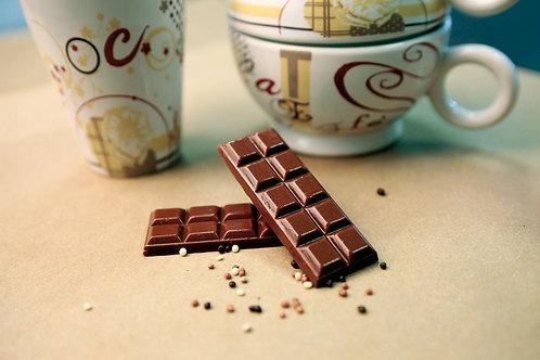 Tablette de cacao | chocolat noir idéal pour votre gourmandise minceur