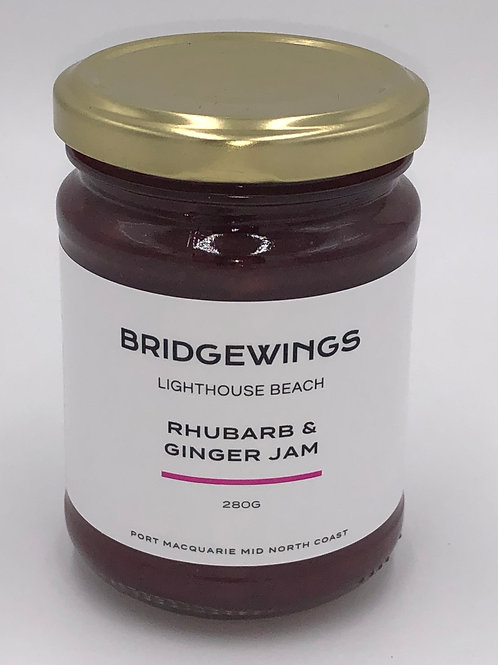 Rhubarb & Ginger Jam 280g