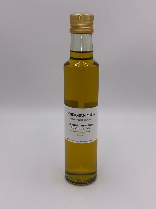 Lemon Infused Extra Virgin Olive Oil 250mL