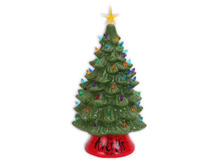 Lighted Christmas Tree.18 Inch Lighted Christmas Tree