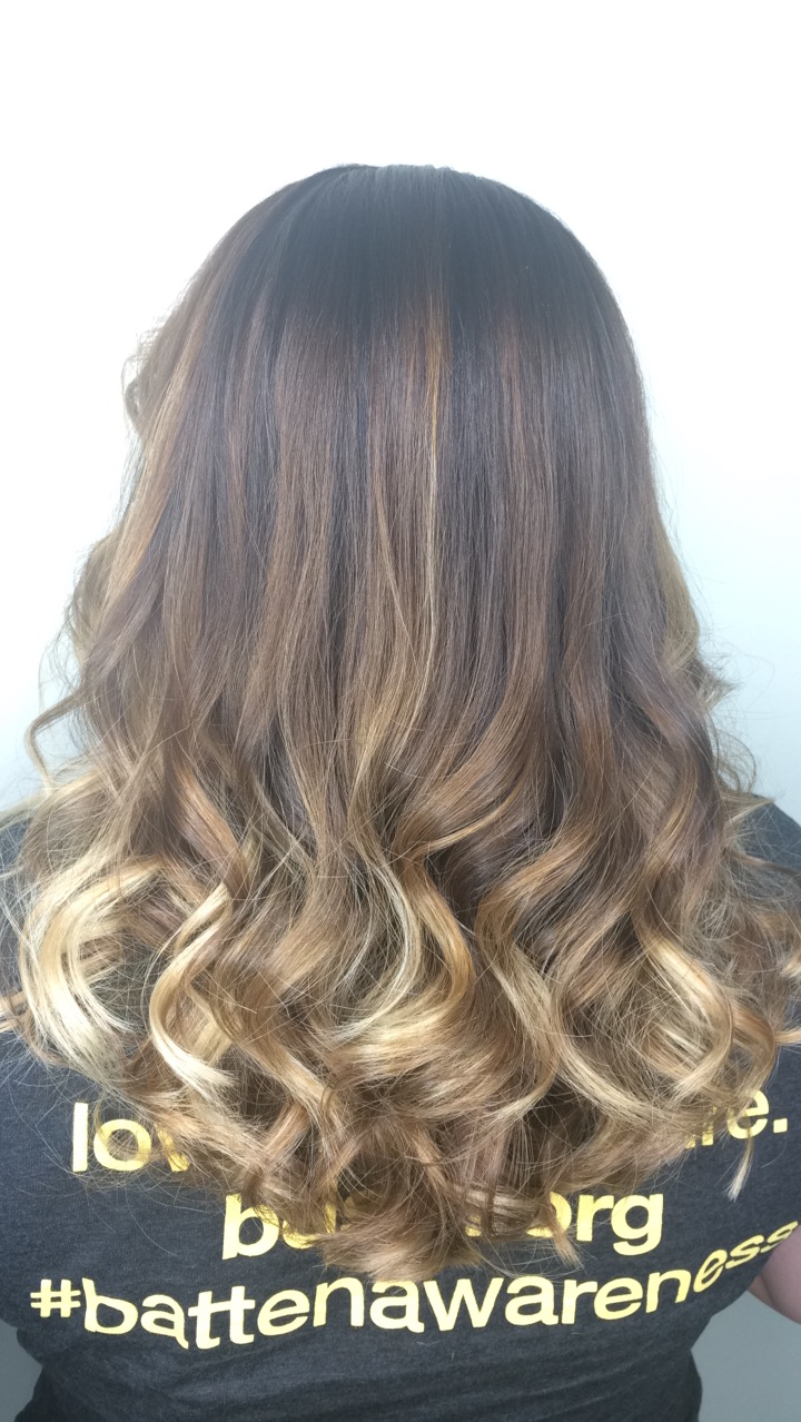 Soft ombre.