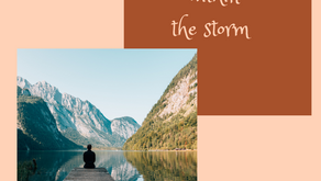 Finding calm within the storm