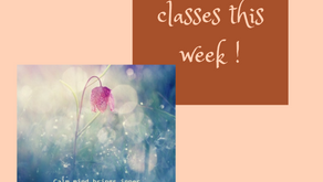 Playlist and classes w/c 12th October