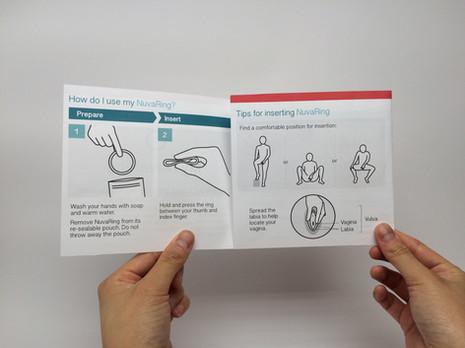 NuvaRing Redesign: Inside Flap