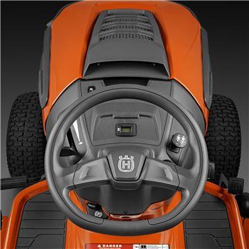 Oversized steering wheel