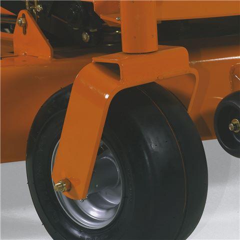 6 inch wide Castor Wheels