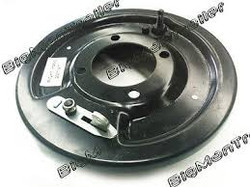 axle backing plate