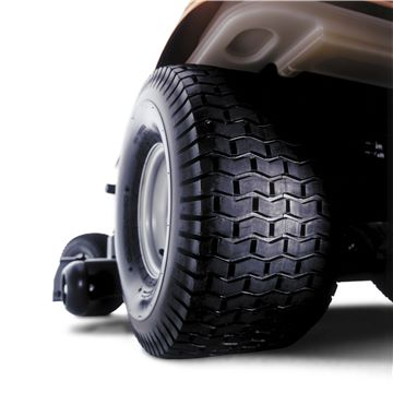 Large Wide Rear Tyres