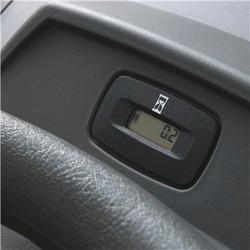 Hour meter with service minder