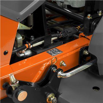 Easy disengagement of hydraulic transmis
