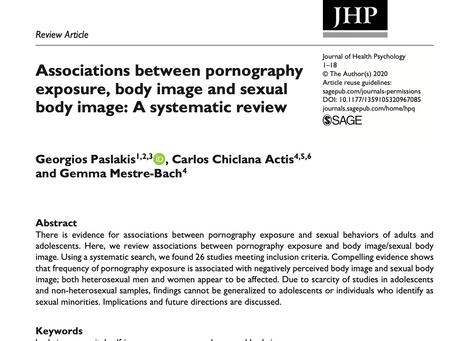 ¿Cómo influye la pornografía en la percepción de nuestro cuerpo?