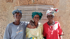 Women from Central Mali
