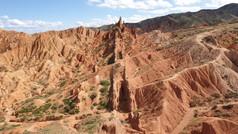 Kyrgyzstan, Red Desert