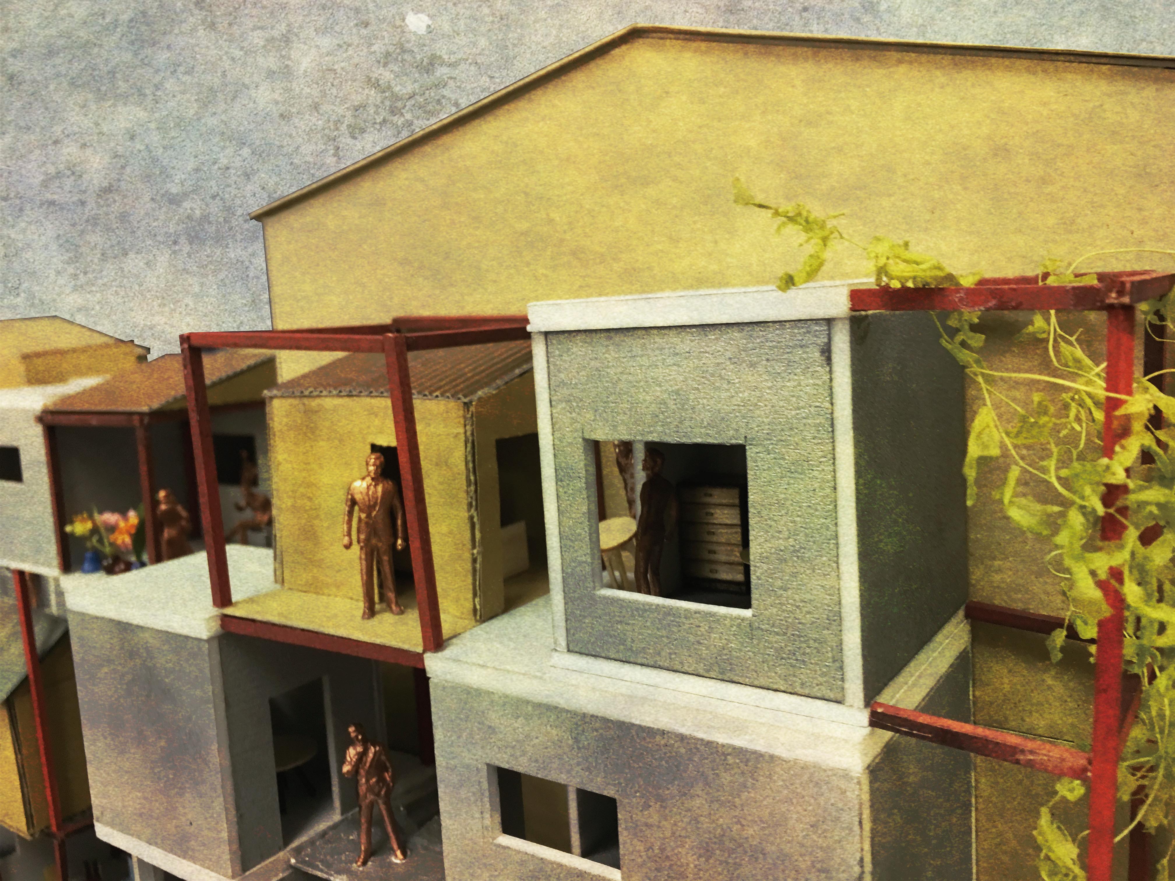 新しい住居を建築したり