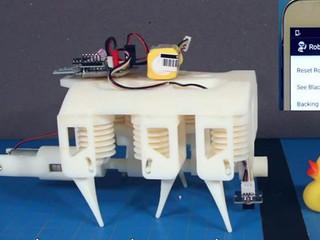 Pesquisadores criam robôs usando impressoras 3D