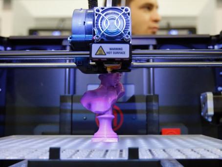 Como funciona uma impressora 3D?