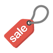 Red Sale Tag