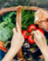 fresh food healthy diet and nutrition
