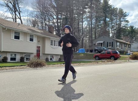 Alu Runs a Quarter-Marathon
