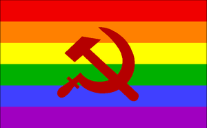 The far left has been using 'gay rights' as justification for communist policies for decades