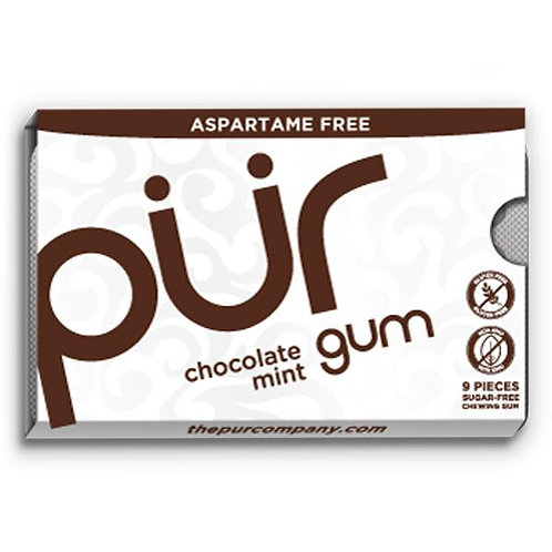 Chocolate Mint Xylitol Gum