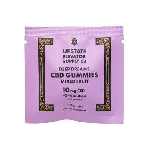 Deep Dreams CBD Gummies 10mg +5Melatonin*